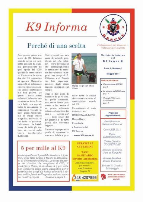 K9 INFORMA 1 cover