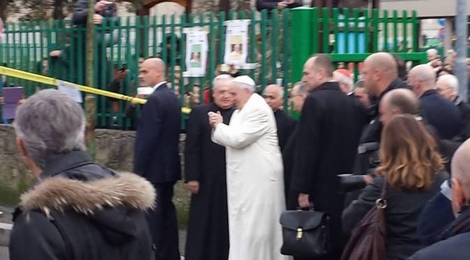 Il Papa a Boccea