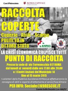 Raccolta Coperte patrocinio 5