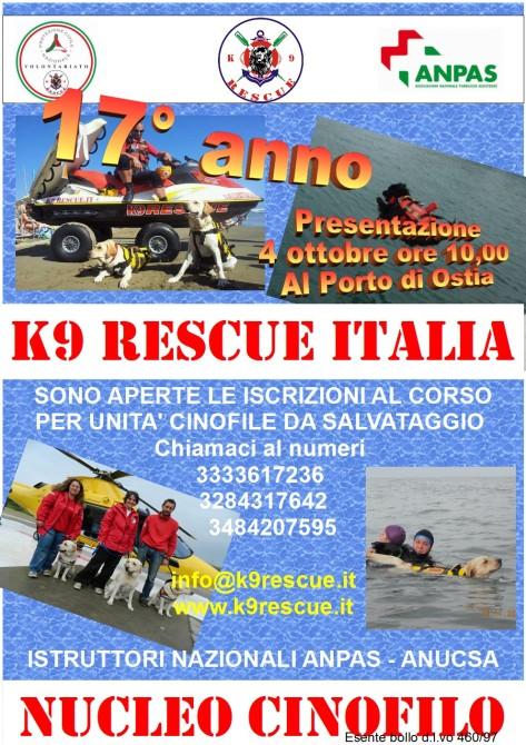 Volantino corso salvataggio 2015-2016