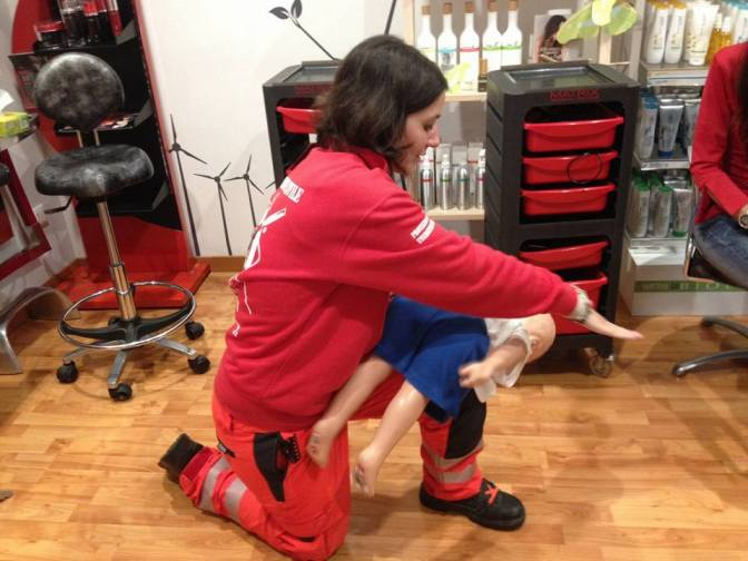 Corso di disostruzione pediatrica dal parrucchiere