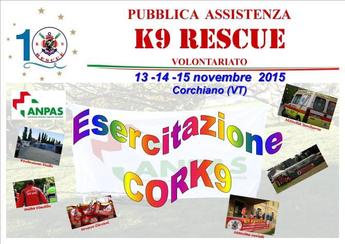 Esercitazione CorK9 2015