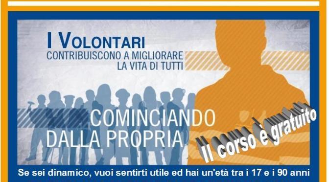Corso per Aspiranti Volontari di Protezione Civile