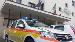 Echo 11 sotto la sede di Anpas Nazionale a Firenze