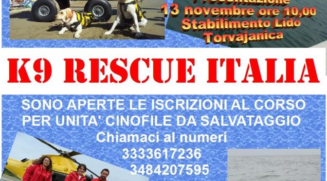 Scuola Unità Cinofile K9 Rescue – Anucsa