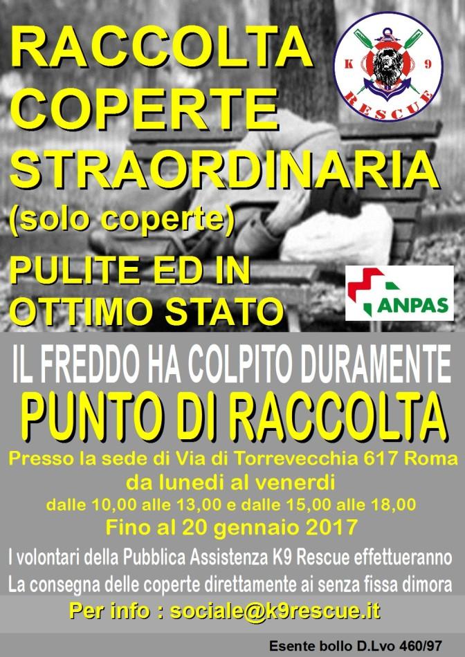 RACCOLTA STRAORDINARIA COPERTE