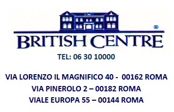 Logo British Centre con vie