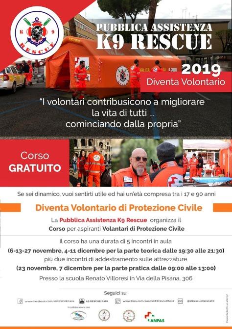 Corso Volontari Protezione Civile